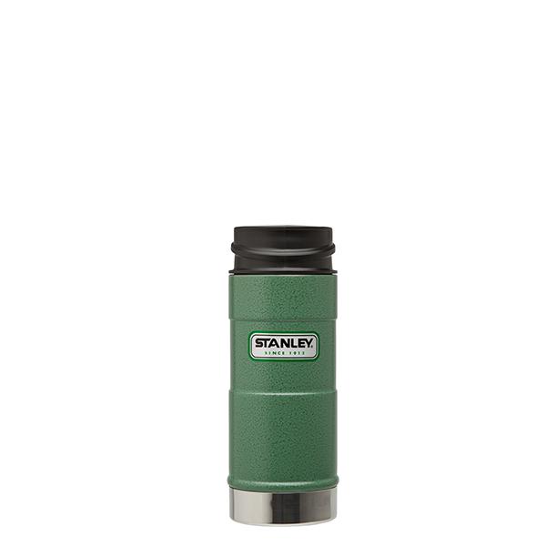 Термокружка Stanley Classic, цвет: зеленый, 0,35 л