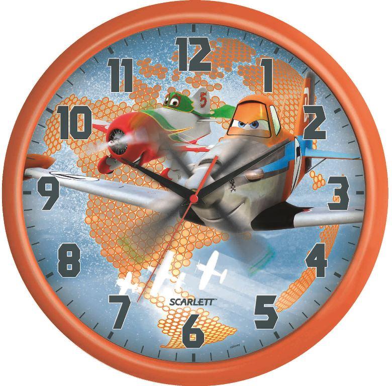 Часы настенные Scarlett, диаметр 29 см. SC - WCD12PL цена