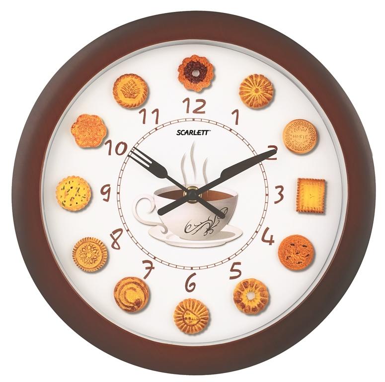 Настенные часы Scarlett цена