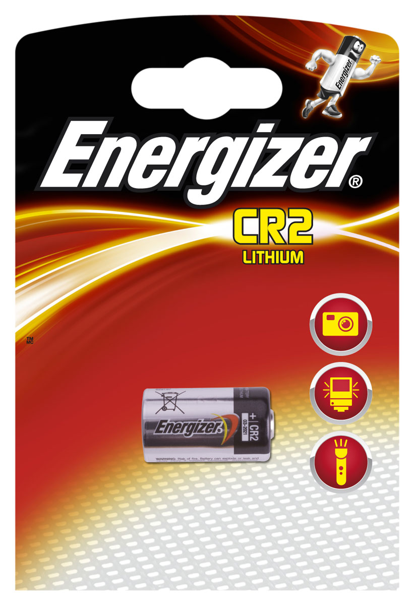 Батарейка Energizer Lithium Speciality Photo, тип CR2, 3V energizer батарейка lithium cr1616 pip 1шт