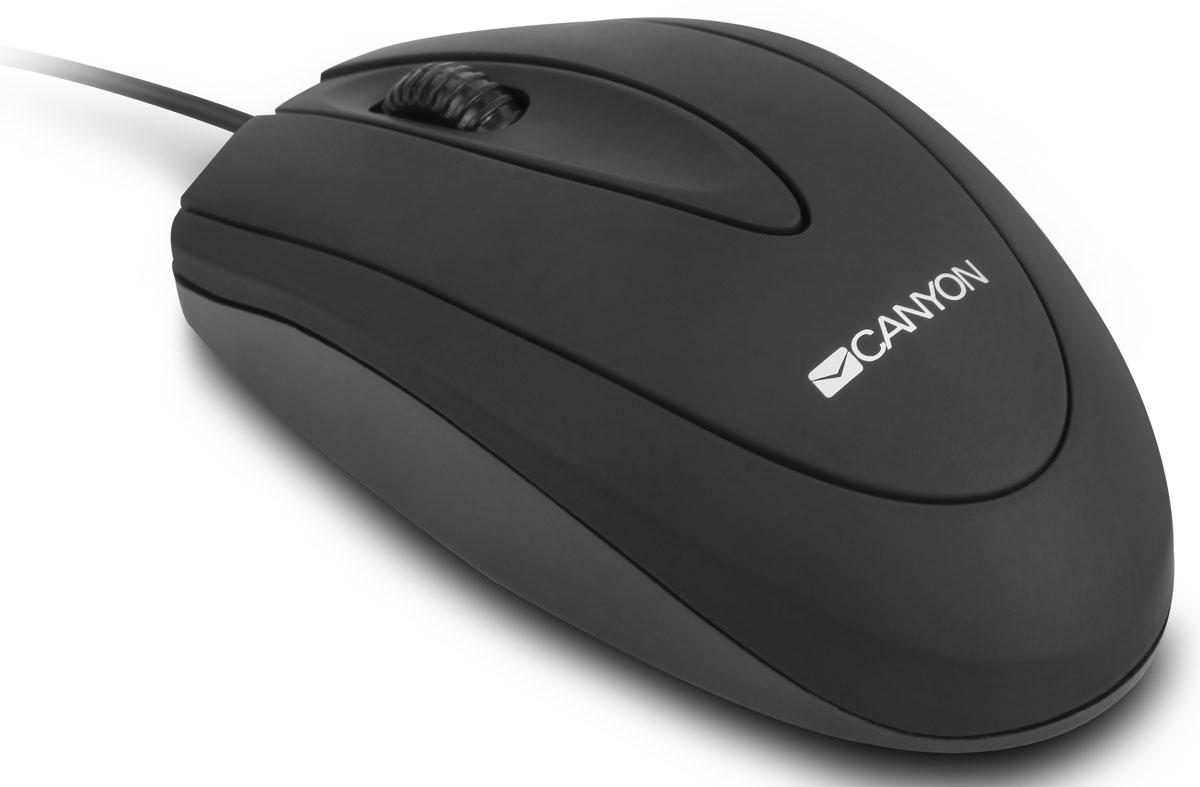 Canyon CNE-CMS1, Black мышь