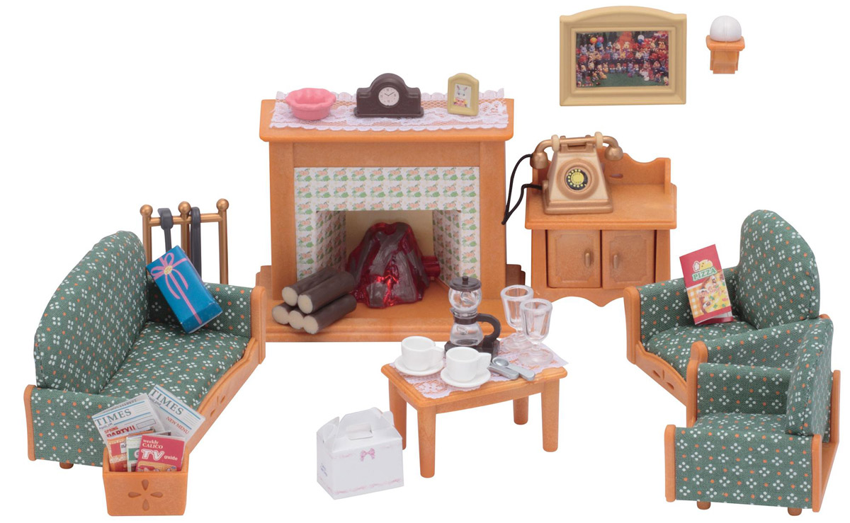 Sylvanian Families Игровой набор Гостиная Deluxe цена