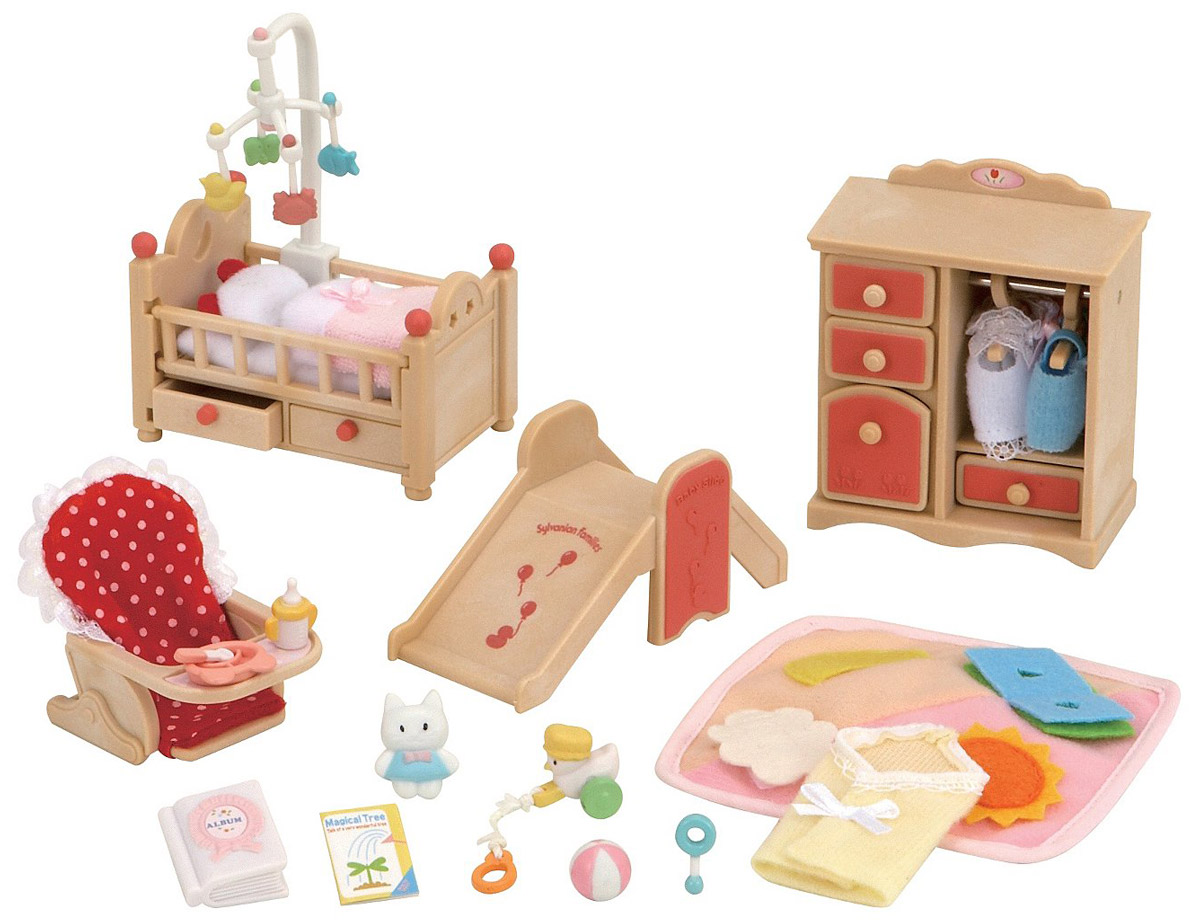 Sylvanian Families Игровой набор Детская комната 2954 фигурки игрушки sylvanian families фигурки игрушки