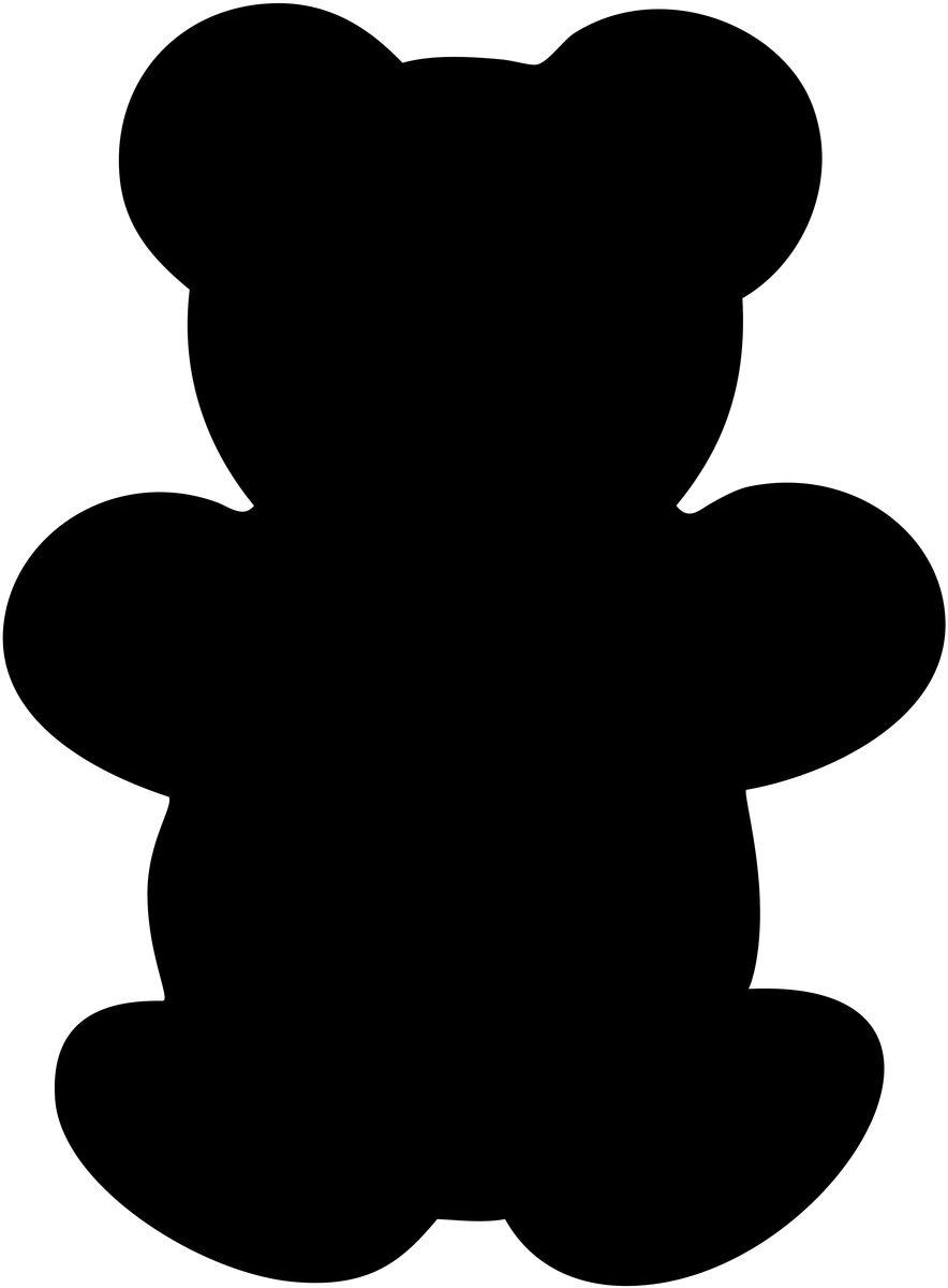Меловая доска для сообщений Securit  Медведь  + маркер в комплекте