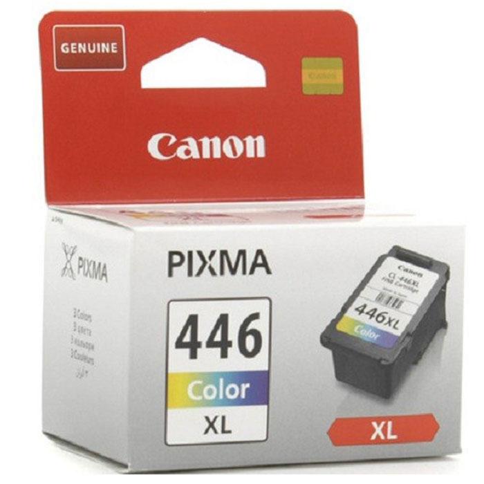 Картридж Canon CL-446 CL XL, голубой, пурпурный, желтый, для струйного принтера, оригинал цены