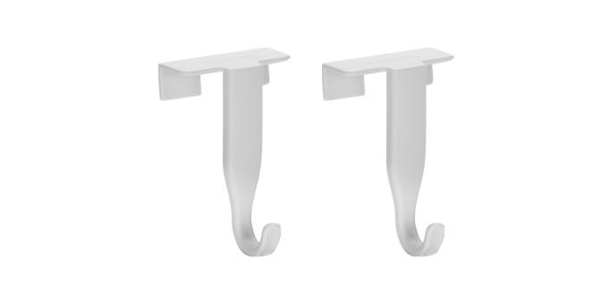 Крючки на двери Tescoma Presto, 2 шт шкафы