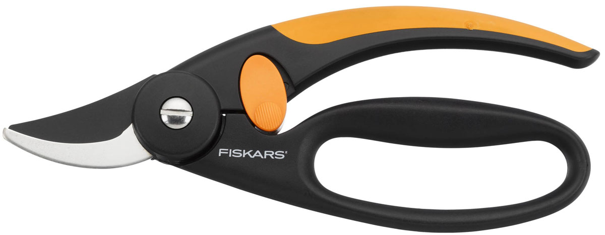 Секатор Fiskars Quality плоскостной, 20 см плоскостной секатор с петлей для пальцев p44 fiskars 111440