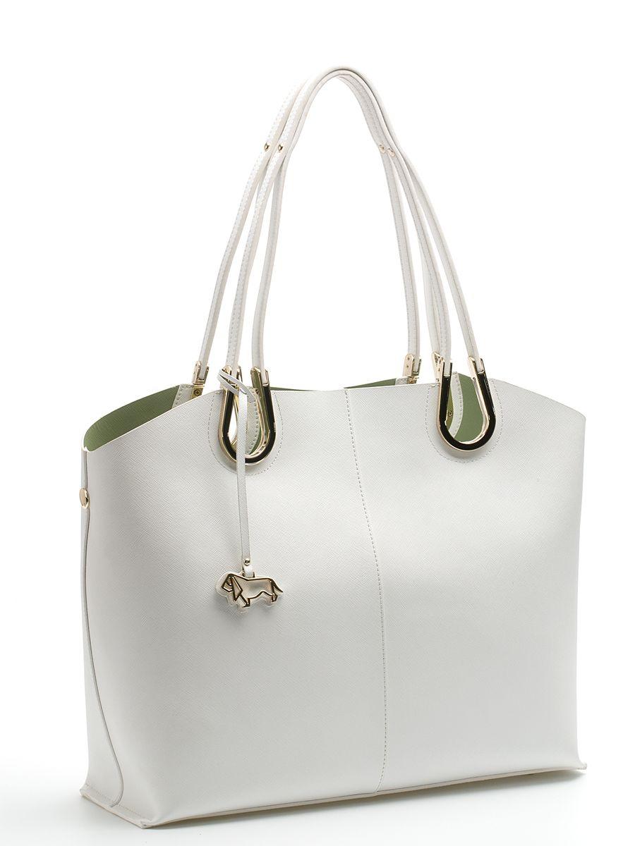цена Сумка женская Labbra, цвет: белый, светло-зеленый. L-DA80745-2 онлайн в 2017 году