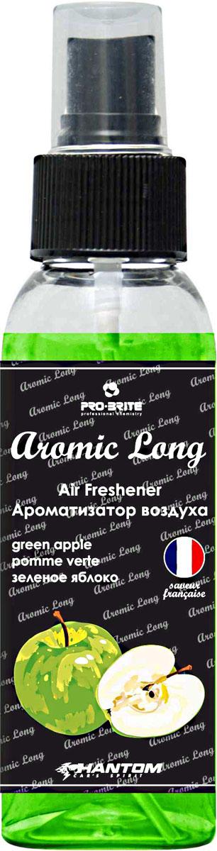Ароматизатор воздуха автомобильный Phantom Aromic Long, зеленое яблоко, спрей 100 мл