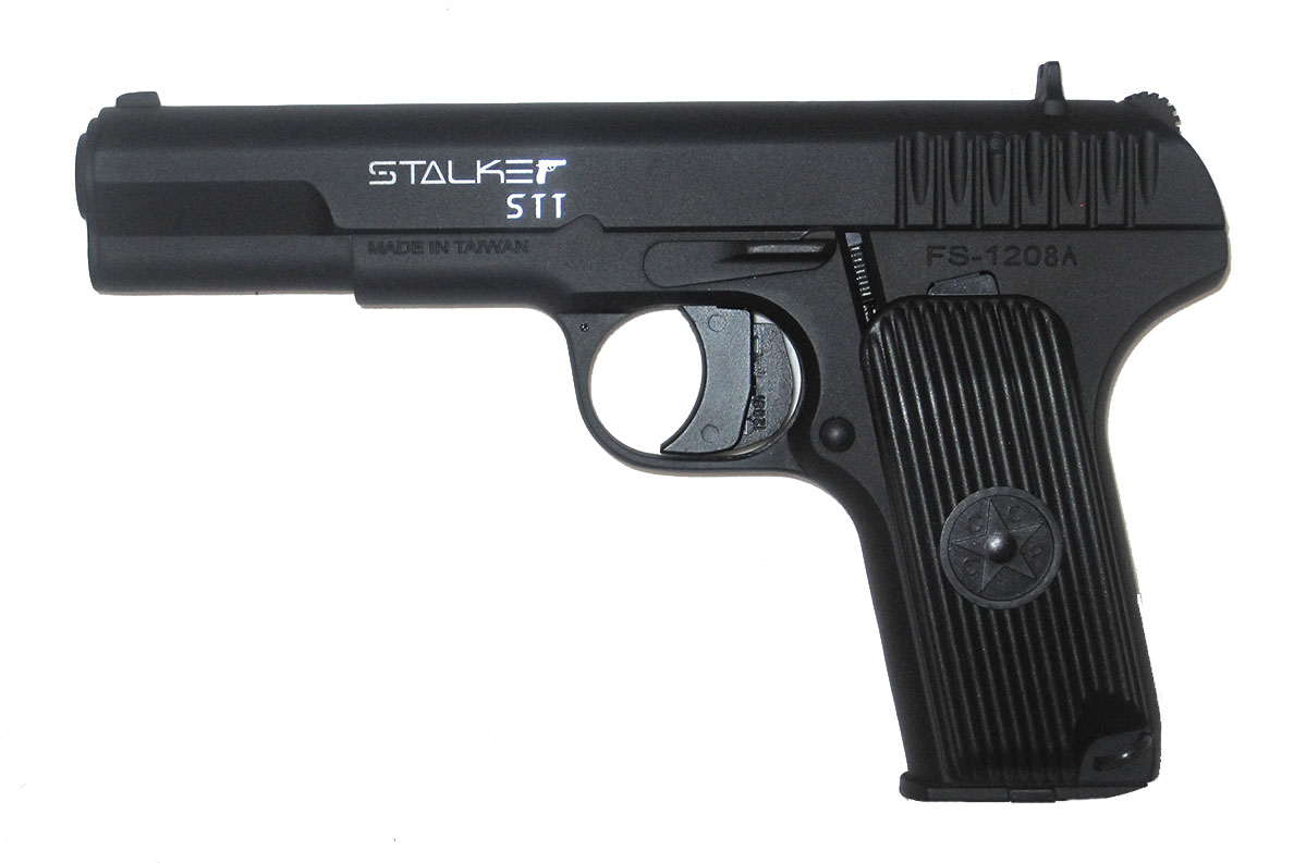 Пистолет пневматический Stalker STT (аналог ТТ). ST-21051T
