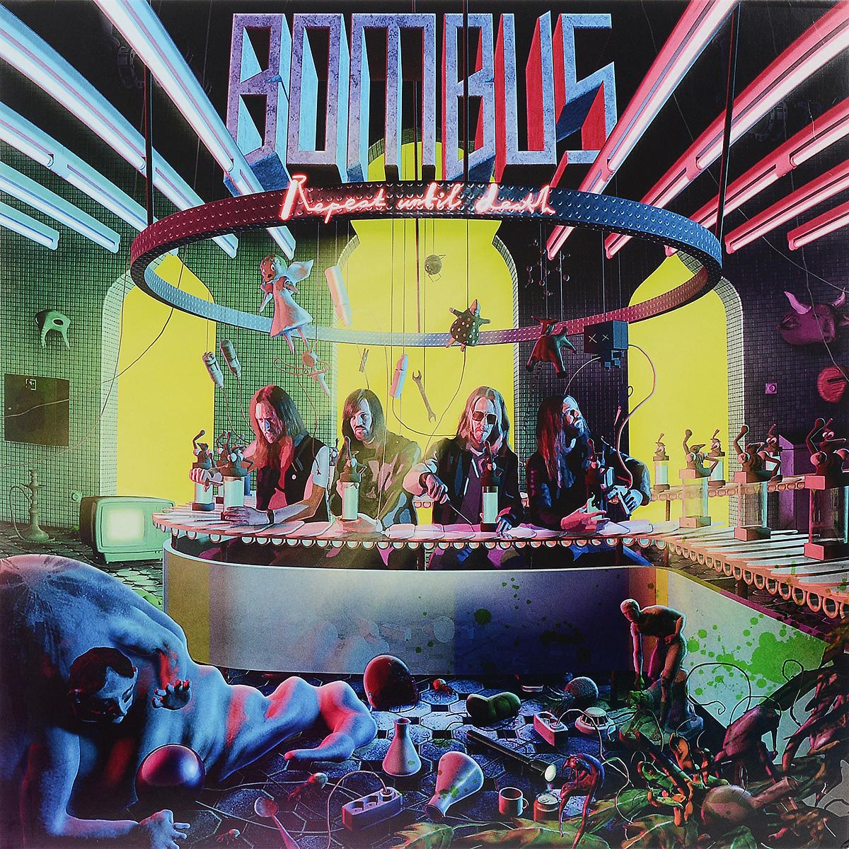 лучшая цена Bombus Bombus. Repeat Until Death (LP)