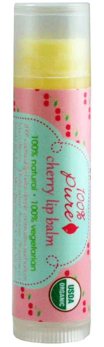 100% Pure Бальзам для губ Вишня (USDA Organic) 4,25 г