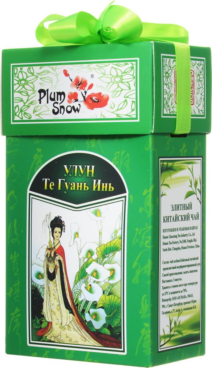 Plum Snow Улун Те Гуань Инь листовой чай, 100 г цена