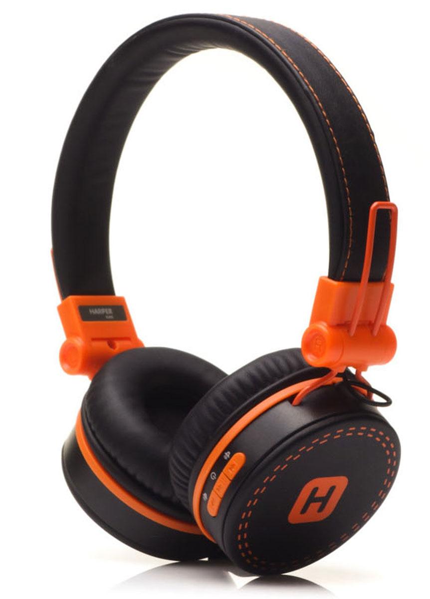 Беспроводные наушники Harper Kids HB-202, черный, оранжевый гарнитура harper kids hb 202 orange