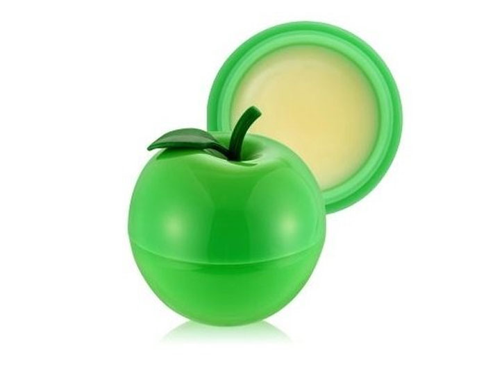 TonyMoly Бальзам для губ MINI GREEN APPLE LIP BALM, 7 мл tonymoly apple lip balm бальзам для губ с ароматом яблока apple lip balm бальзам для губ с ароматом яблока