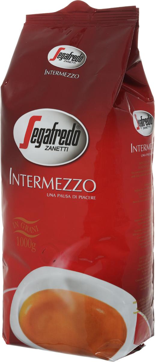 Segafredo Intermezzo кофе в зернах, 1 кг кофейный набор кофе segafredo с кофейной парой чашек