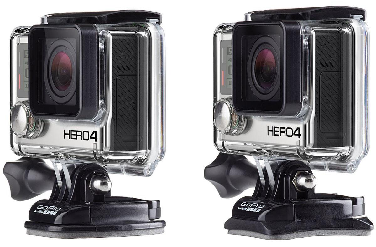 GoPro Flat + Curved Adhesive Mounts, Blackкрепление для экшн-камеры GoPro