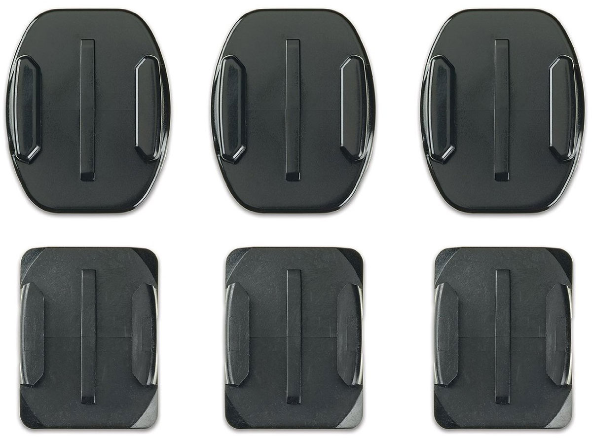 GoPro Flat + Curved Adhesive Mounts, Black крепление для экшн-камеры цена