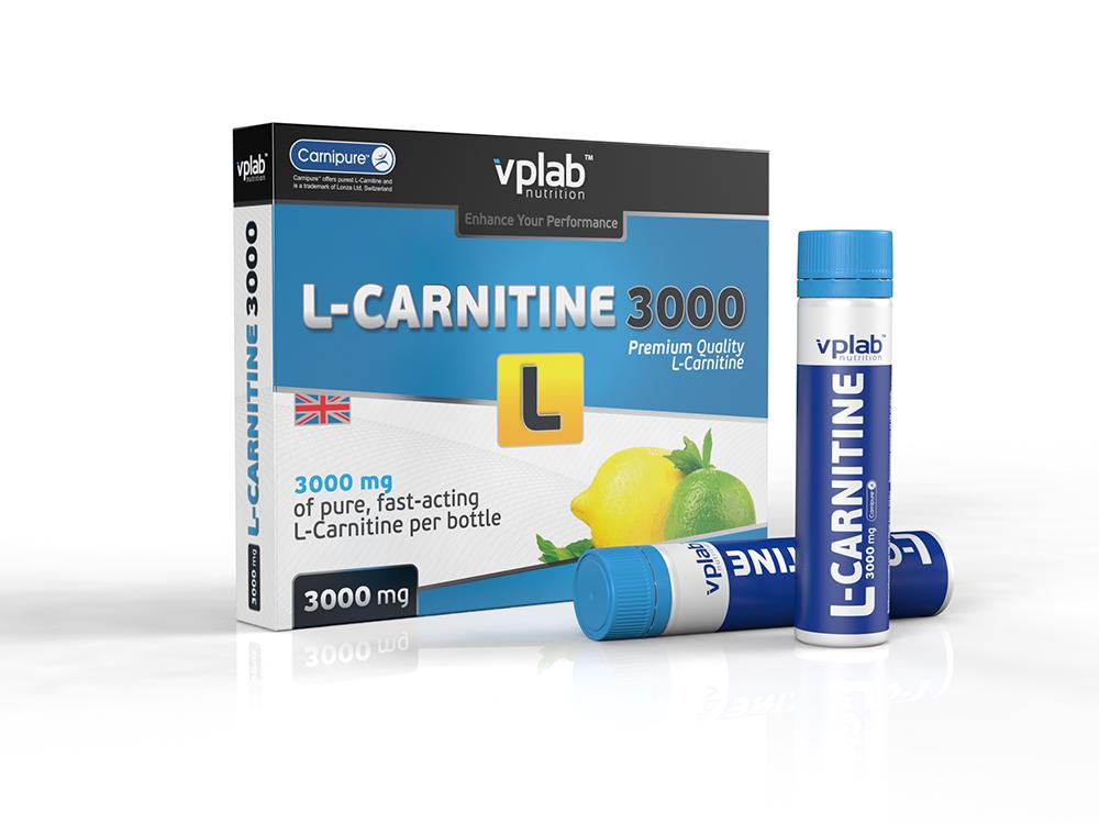 "Карнитин VPLab ""L-Carnitine 3000"", 7 ампул х 25 мл"