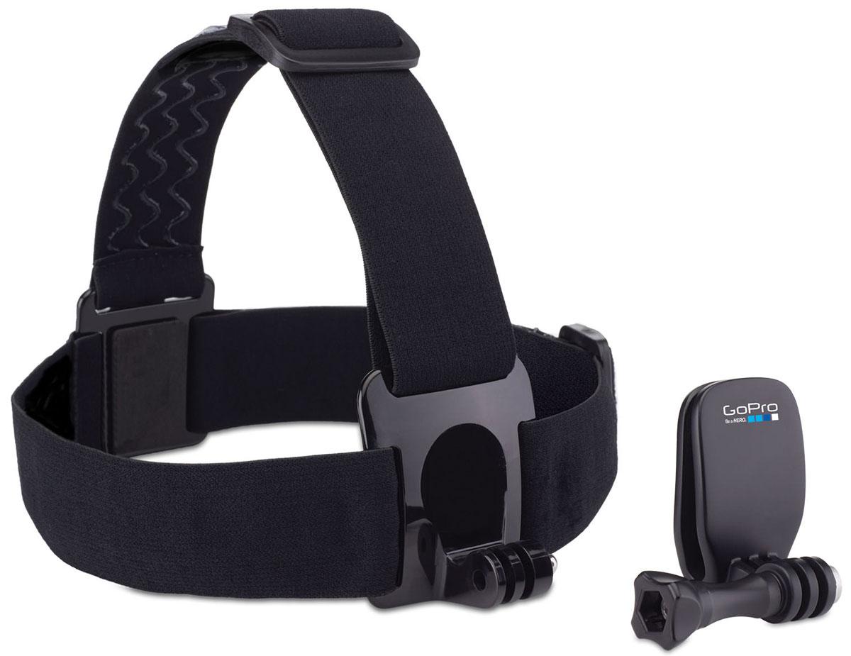 цена на GoPro Head Strap + QuickClip крепление на голову + клипса