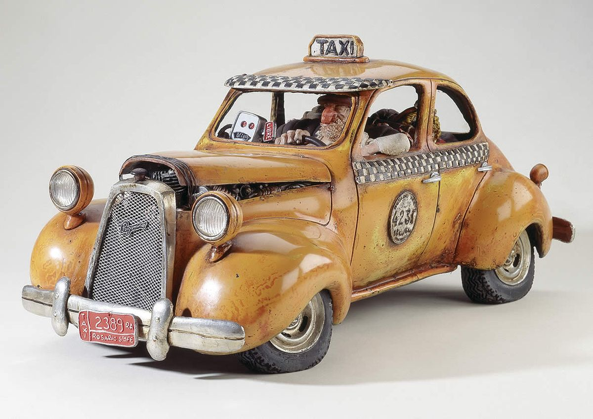 Статуэтка Gillermo Forchino Такси
