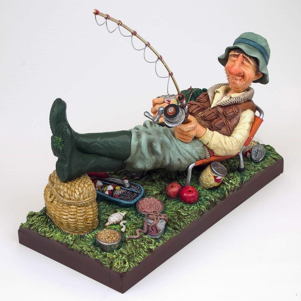 профессиональные люди фигурки рыбаков или картинки рыбаков эту разницу