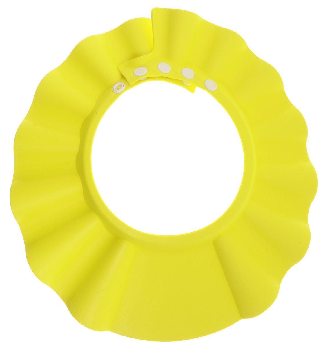 Bradex Козырек для мытья головы Купаемся без слез цвет желтый