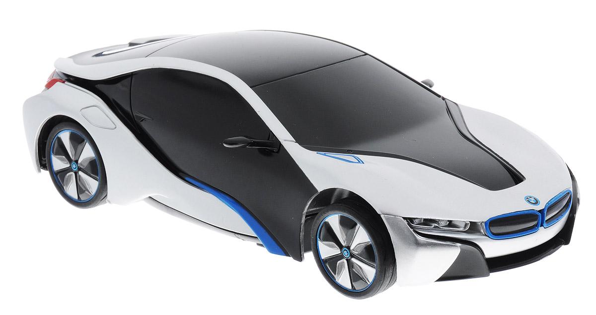 Rastar Радиоуправляемая модель BMW i8 цвет серебристый цена