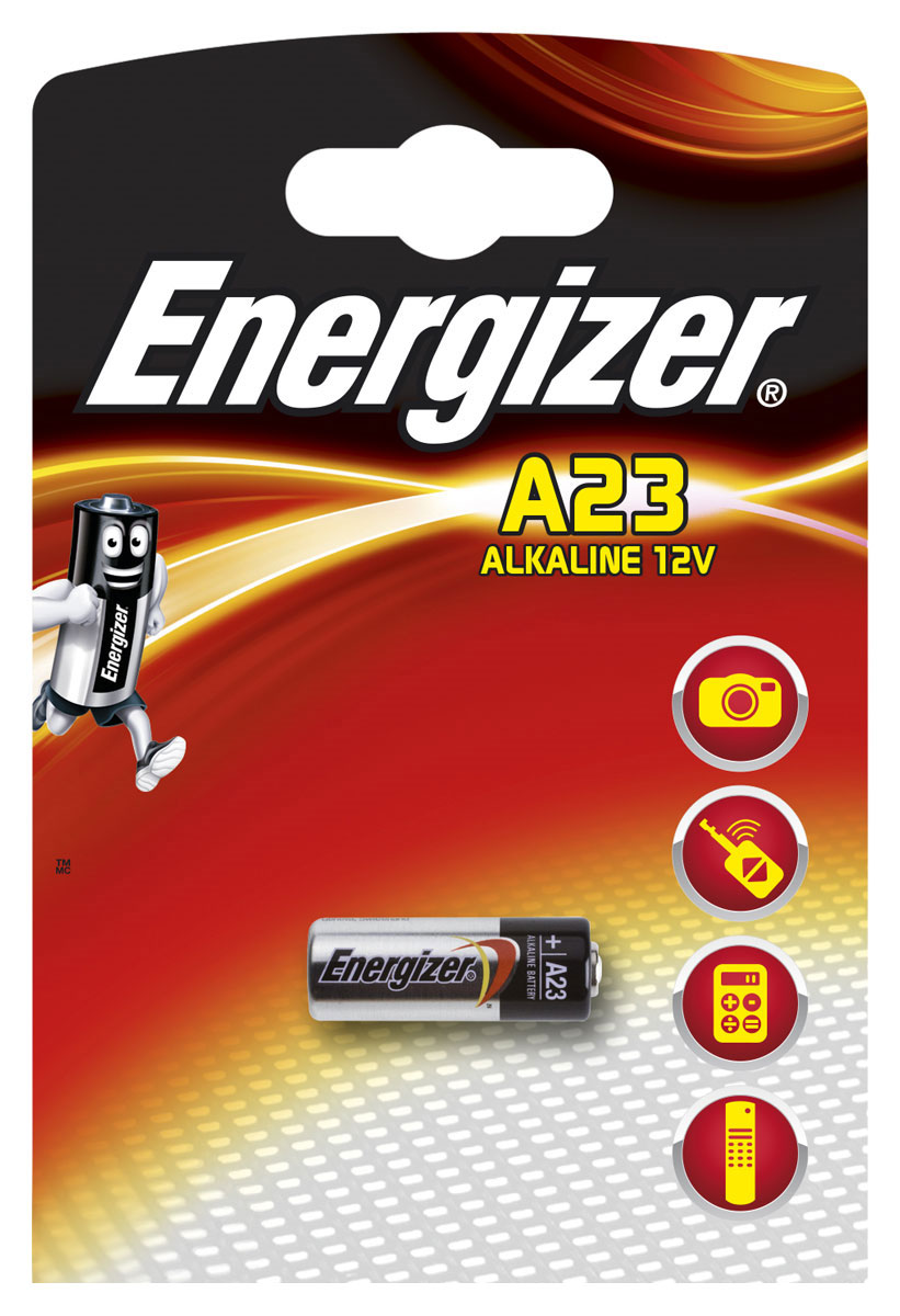 электронные игрушки Батарейка Energizer Alkaline, тип A23, 12V