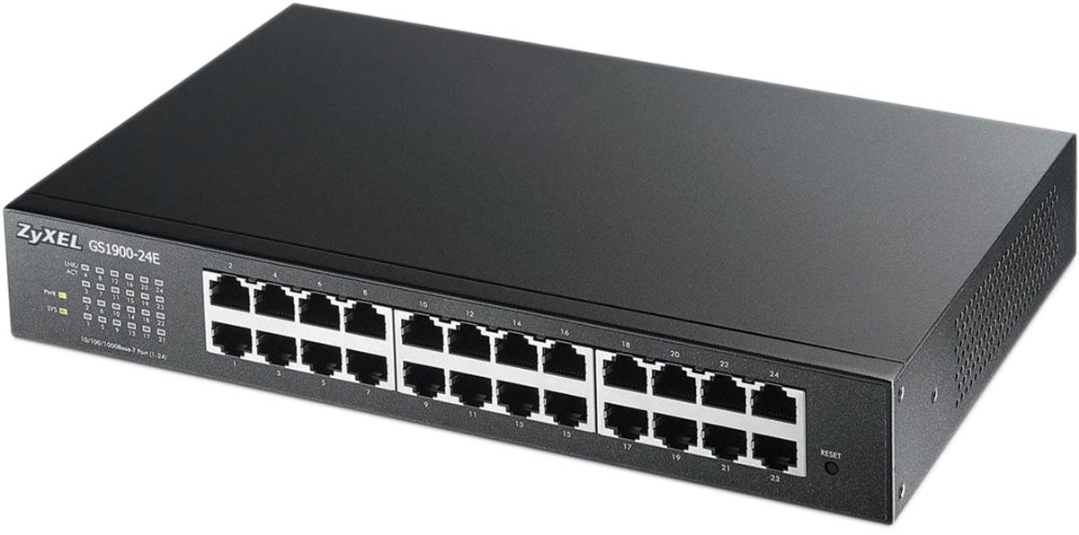 Zyxel GS1900-24E коммутатор (24 порта)