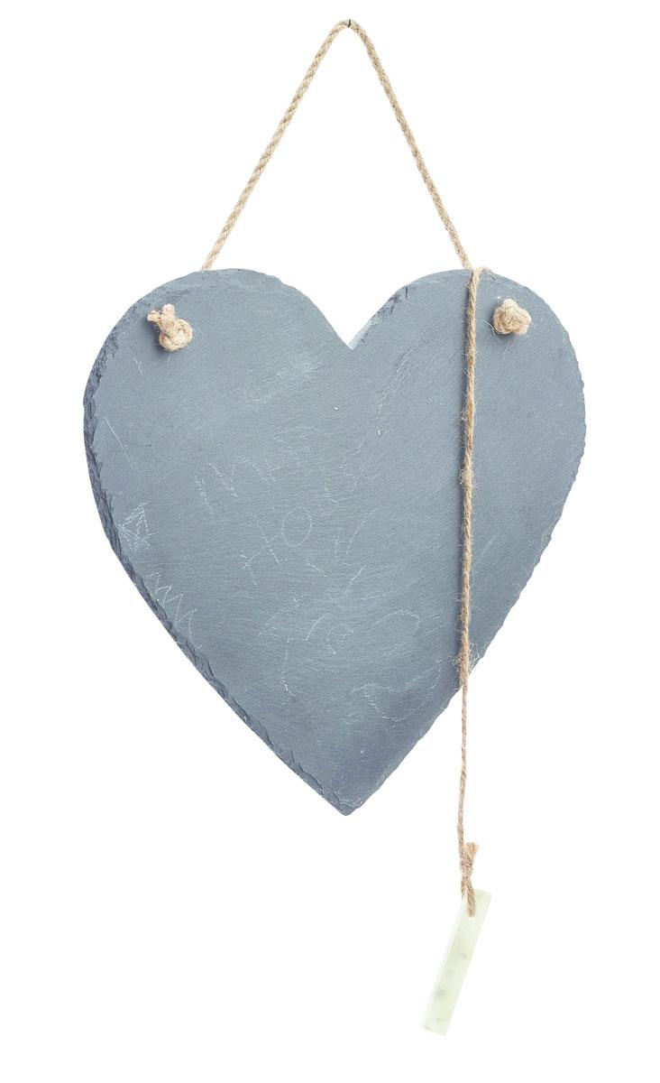 Доска для заметок Gardman  Love Heart , с мелом, 21 х 25 см