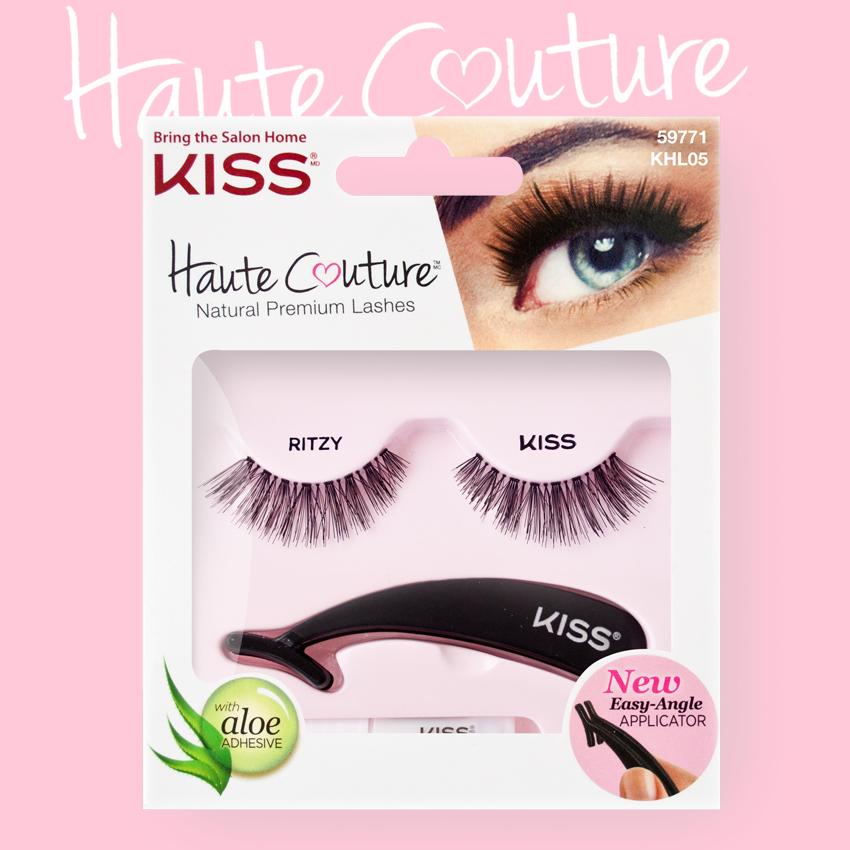 Kiss Haute Couture Накладные ресницы Single Lashes Ritzy KHL05GT