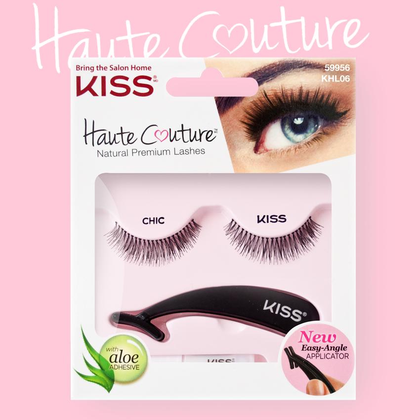 Kiss Haute Couture Накладные ресницы Single Lashes Chic KHL06GT