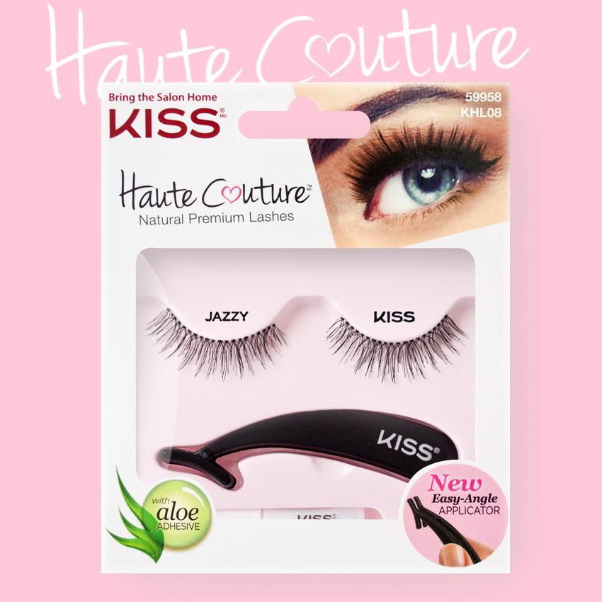 Kiss Haute Couture Накладные ресницы Single Lashes Jazzy KHL08GT