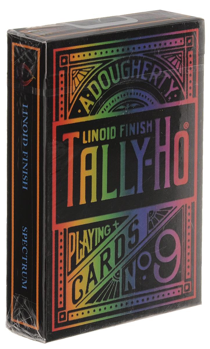 Карты игральные Tally-Ho Spectrum, 56 карт игральные карты bicycle spectrum deck цвет мультиколор 56 шт