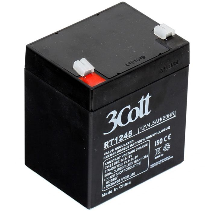 Батарея для ИБП 3Cott 12V4.5Ah батарея 3cott 12v18ah