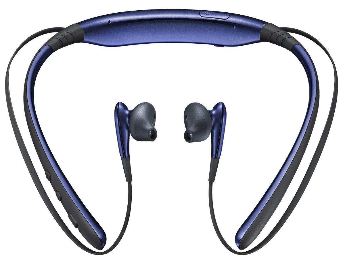 Беспроводные наушники Samsung Level U, черный, синий