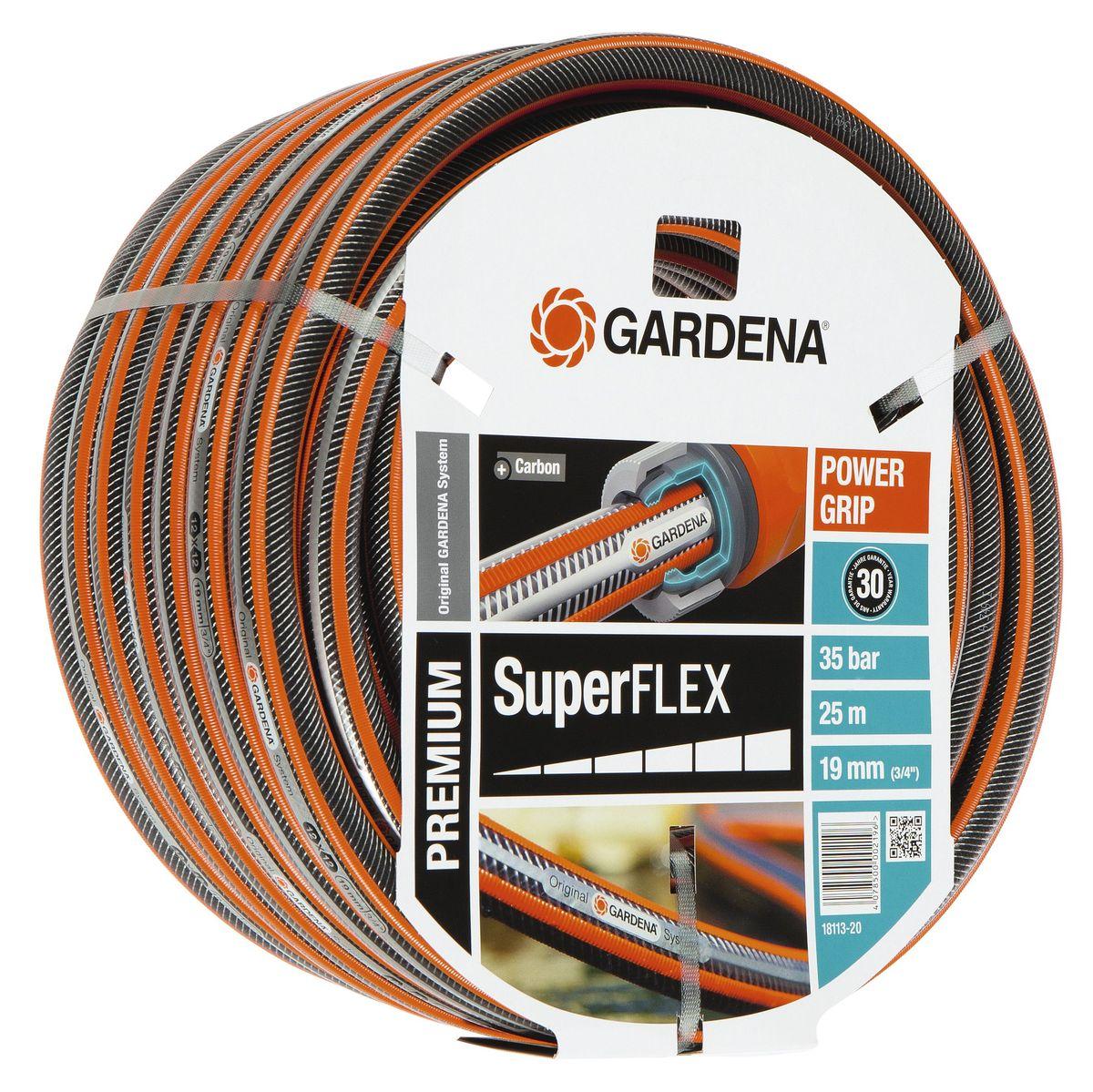 Шланг Gardena Superflex, диаметр 3/4, длина 25 м шланг gardena superflex