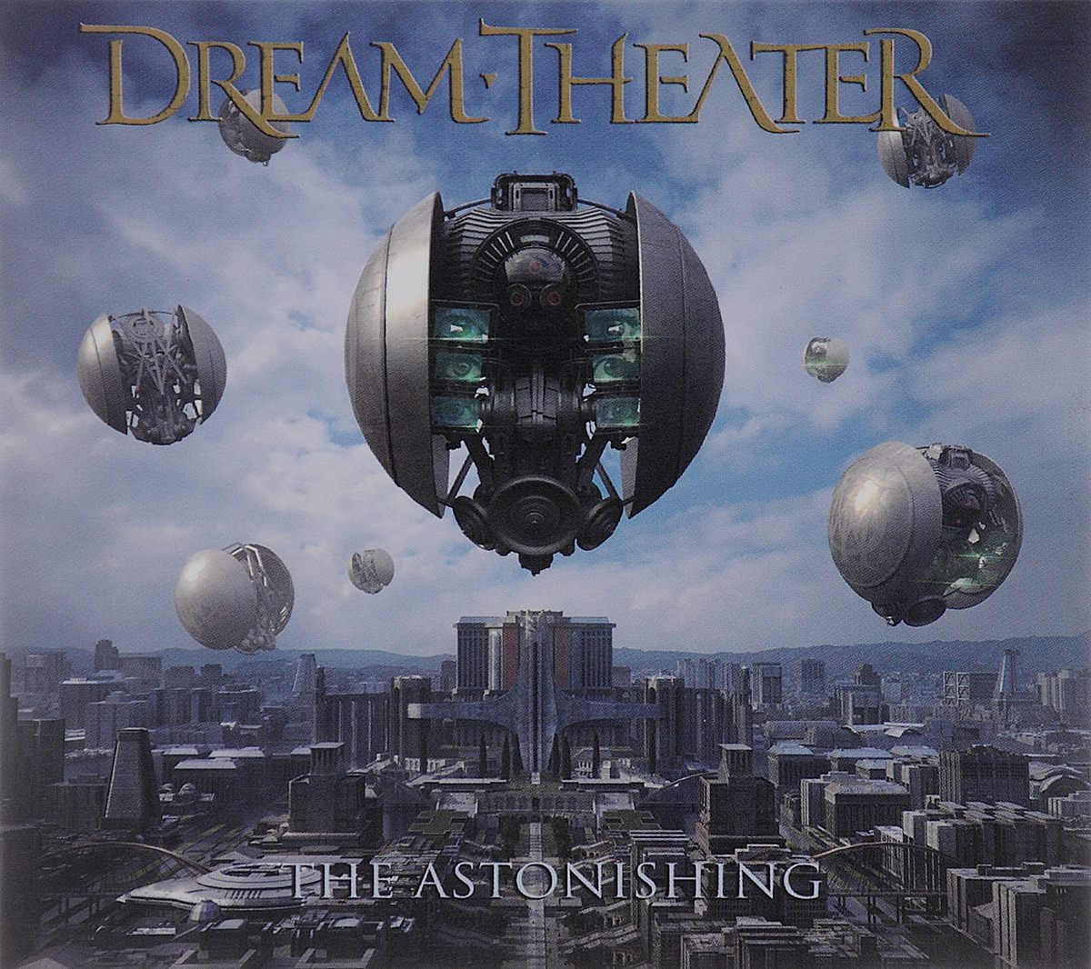 Dream Theater Dream Theater. The Astonishing (2 CD) dream evil dream evil the book of heavy metal lp cd