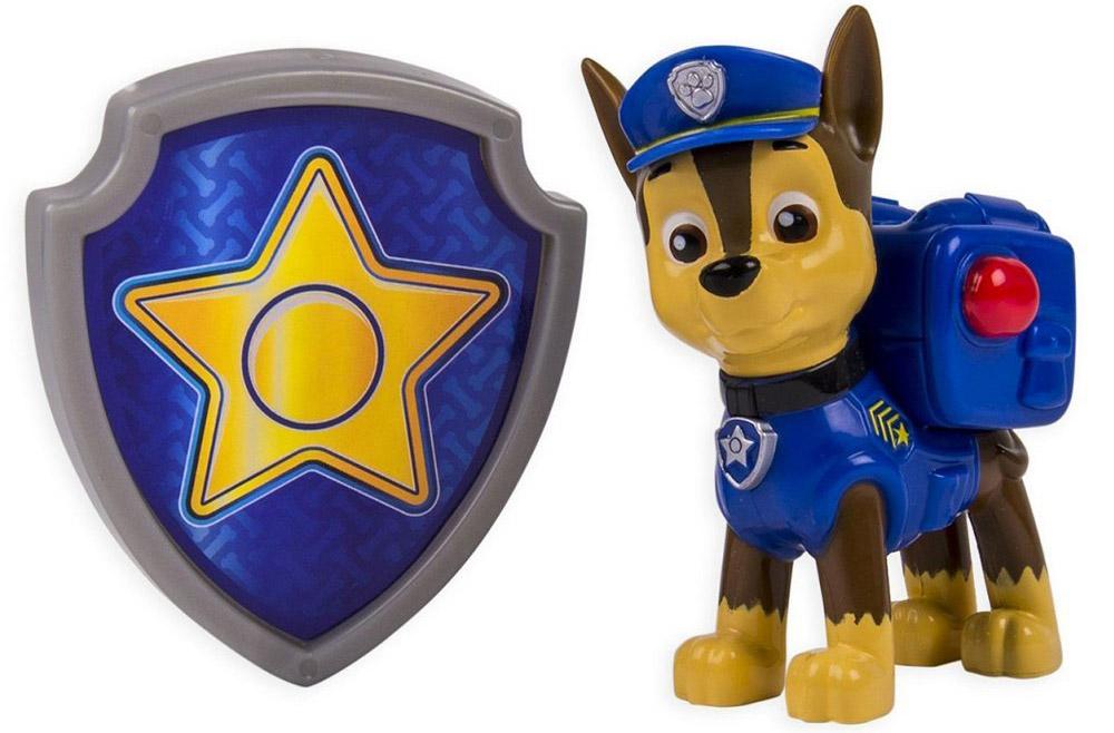 Paw Patrol Фигурка Chase с рюкзаком-трансформером paw patrol фигурка chase с рюкзаком трансформером