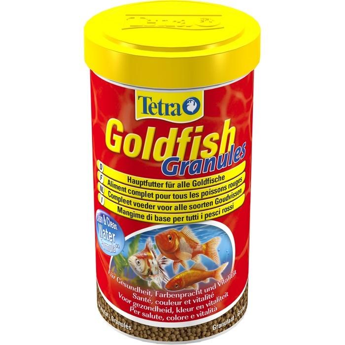 Корм для золотых рыбок Tetra Goldfish. Granules, в гранулах, 500 мл (158 г) корм tetra goldfish gold japan для селекционных золотых рыбок мини гранулы 250 мл 145 г