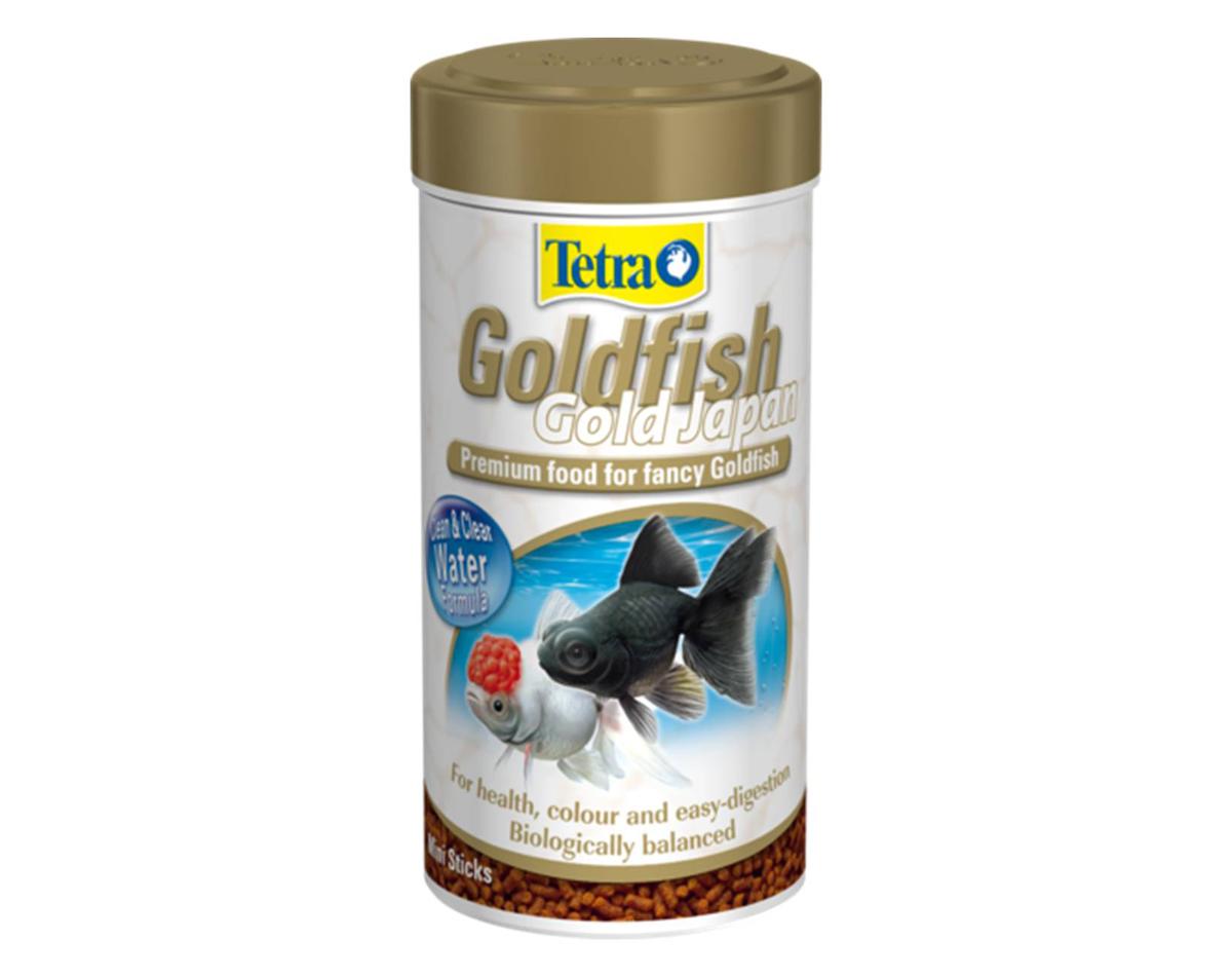 Корм Tetra Goldfish Gold Japan для селекционных золотых рыбок, мини-гранулы, 250 мл (145 г) корм tetra goldfish gold japan для селекционных золотых рыбок мини гранулы 250 мл 145 г