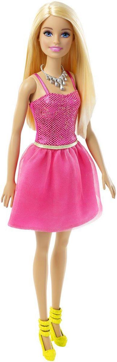 Barbie Кукла Блондинка Сияние моды цвет платья розовый цена 2017