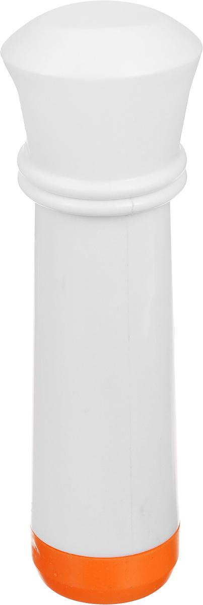 """Насос вакуумный для контейнеров """"Microban"""", цвет: белый, оранжевый"""