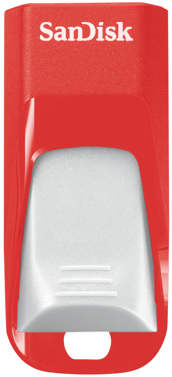SanDisk Cruzer Edge EURO 2016 Football 64Gb, Red USB-накопитель (SDCZ51-064G-E35RG) все цены
