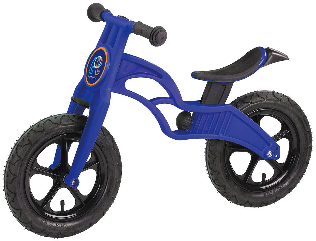 Pop Bike Беговел детский Flash с надувными колесами цвет синий pop bike беговел детский sprint с бескамерными колесами цвет синий