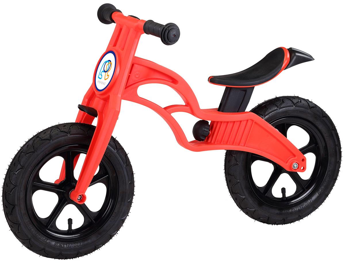 Pop Bike Беговел детский Flash с надувными колесами цвет красный pop bike беговел детский sprint с бескамерными колесами цвет синий