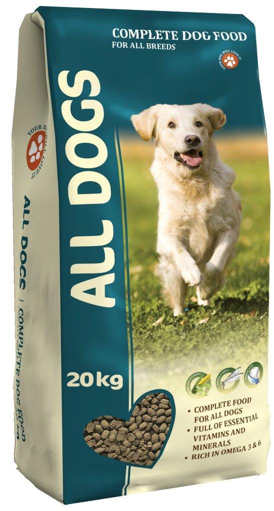 """Корм сухой """"ALL DOGS"""" для взрослых собак всех пород, 20 кг"""