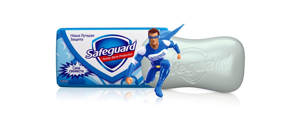 Safeguard Антибактериальное мыло Свежее, 90 г мыло safeguard 5х75г safeguard