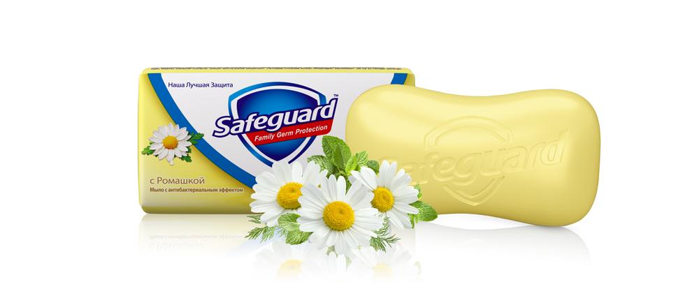 Safeguard Антибактериальное мыло Ромашка, 90 г